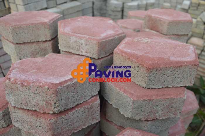 jual paving block hexagonal di tangerang