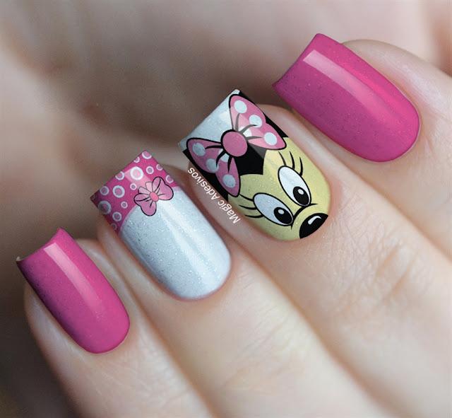 Unhas Minnie