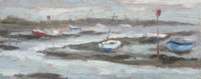 #40 'Emsworth Harbour' 4×9.5″
