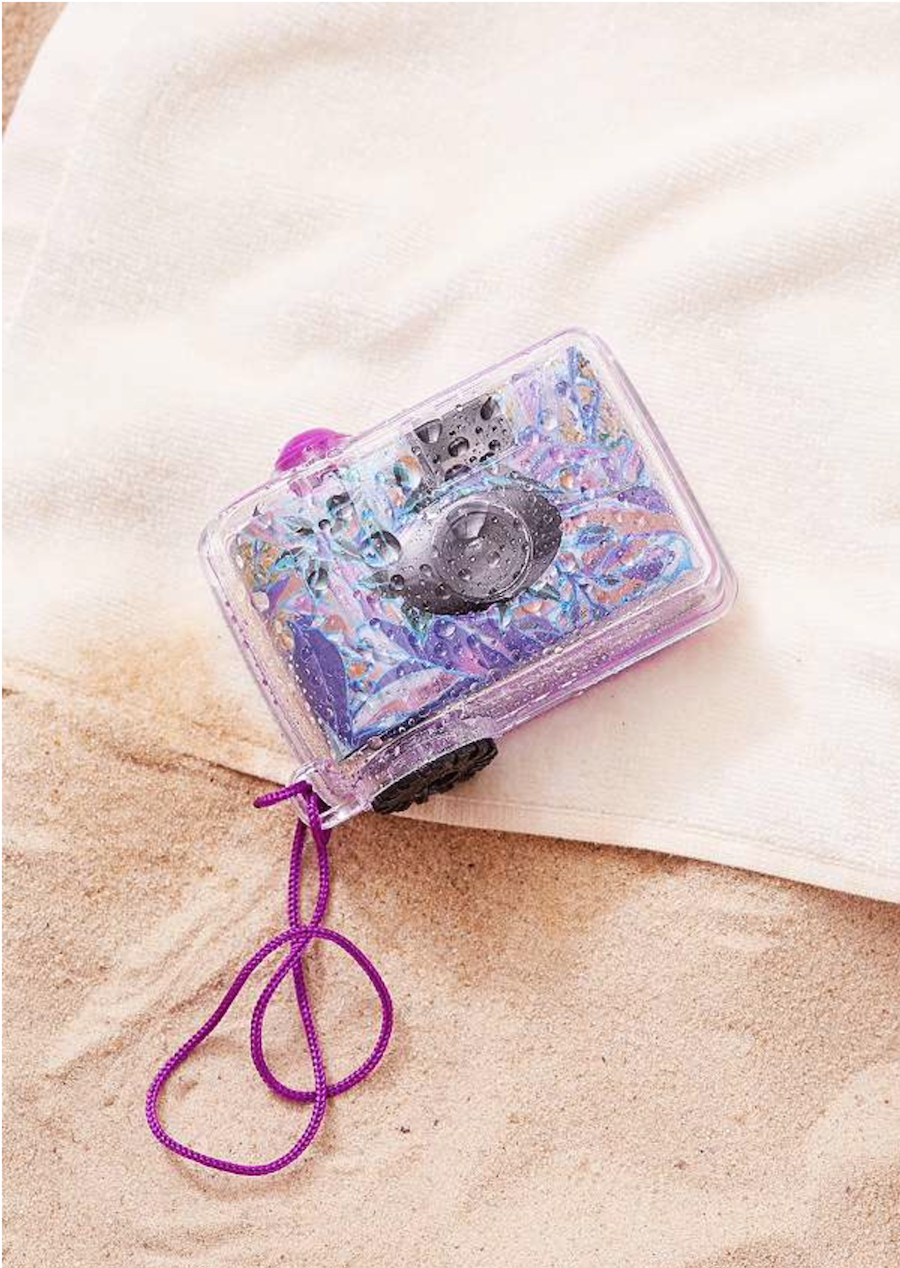 As you know I L O V E taking pictures  and with this underwater babe I am  sure to go and explore a whole new universe  underwater camera. ANYA ADORES  Must have summer accessories for tweens and other