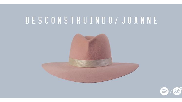 """No fim das contas, fica óbvio que, sim, """"Joanne"""" é um álbum pop."""