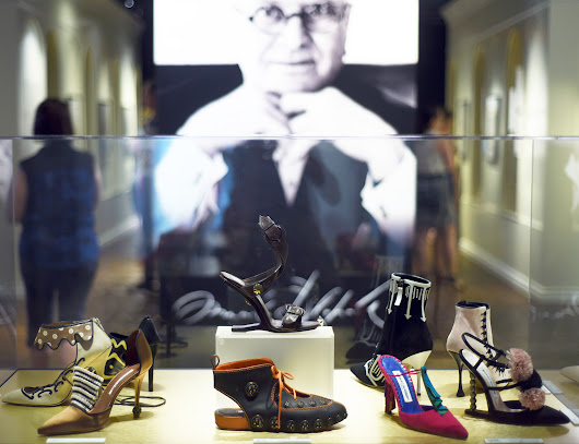 MANOLO BLAHNIK: THE ART OF SHOES @ THE BATA SHOE MUSEUM