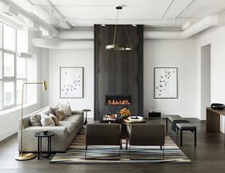 Лучшие дизайн-проекты. Современный промышленный лофт в Торонто