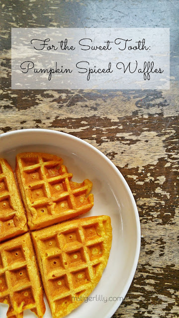 Easy to make and extra tasty, these pumpkin spice waffles are the perfect breakfast booster to get you ready for the rest of the day! Click to read more or pin and save for later.