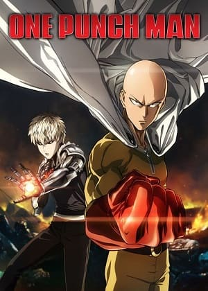 Poster One Punch Man - 1ª Temporada Completa