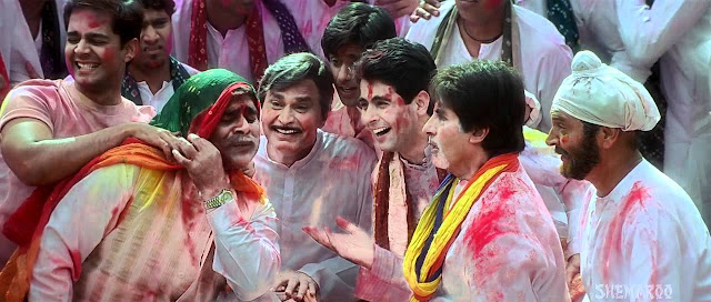 Happy Holi Images, Pictures, Photos of Amitabh Bachchan