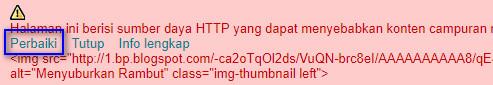 HTTPS mixed content