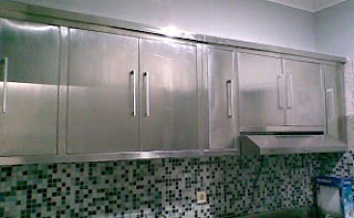 Stainless Steel Kitchen Set Bekasi Kitchen And Living Space Interior
