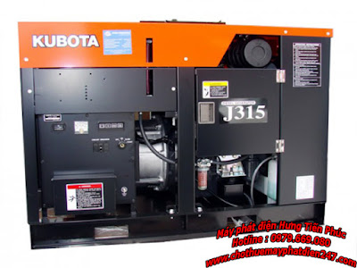 Máy phát điện Kubota 15kva J315