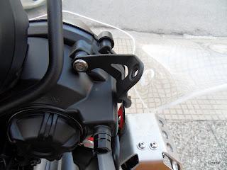 TT800XC: Tiger 800 XC ed il parabrezza GIVI AF6401