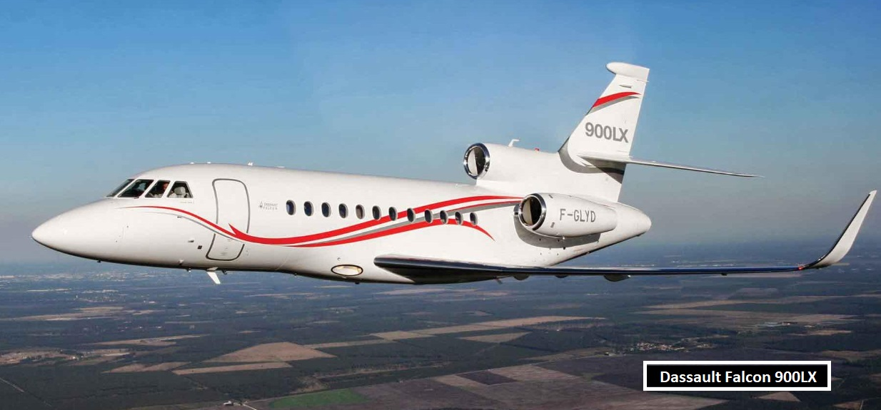 Rooney owns private jet cost $20 million Falcon 900lx
