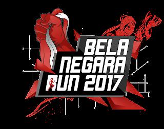 Logo Bela Negara Run 2017