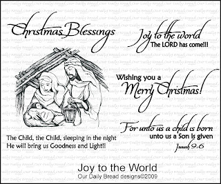 Our Daily Bread Designs - Stamps Joy to the World
