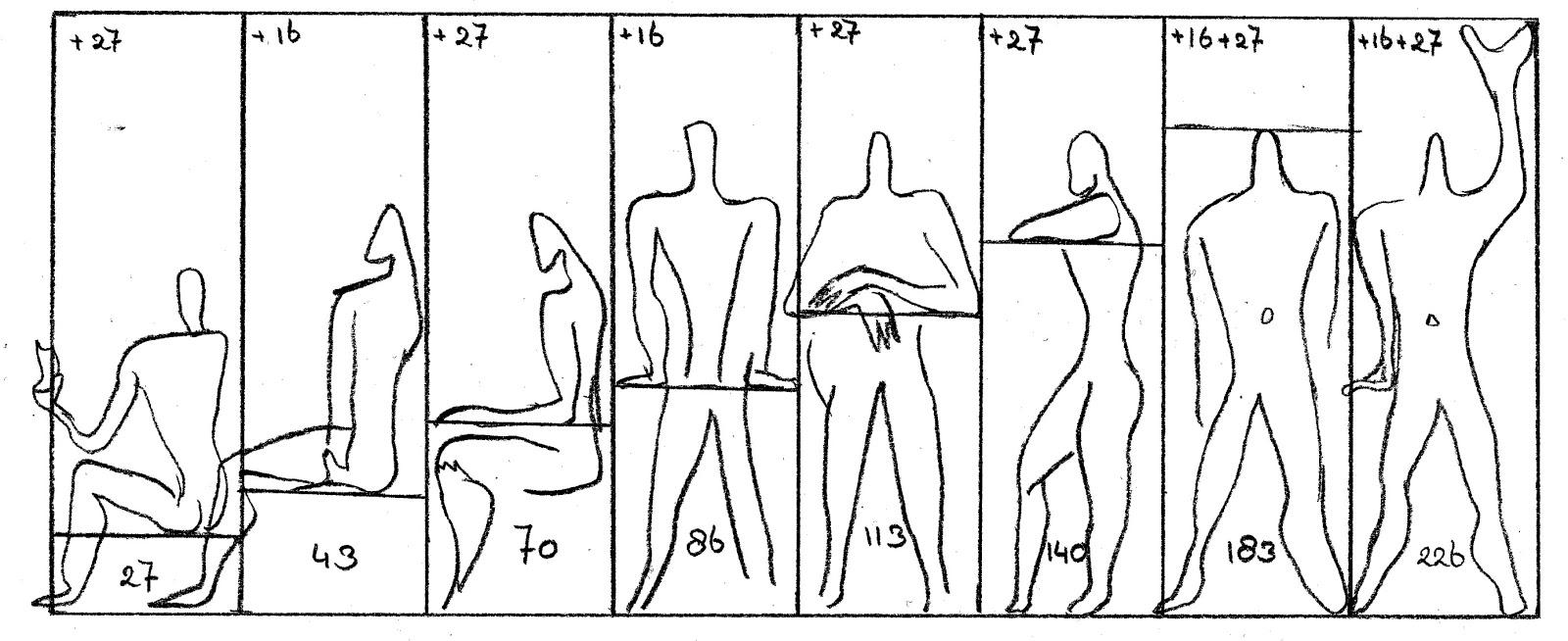 modulor le corbusier sainte marie de la tourette rbarc1c2 utopische modellen van de renaissance. Black Bedroom Furniture Sets. Home Design Ideas
