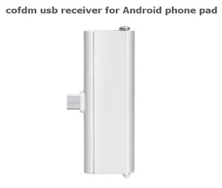 COFDM Wireless Video Transmission Android USB Receiver