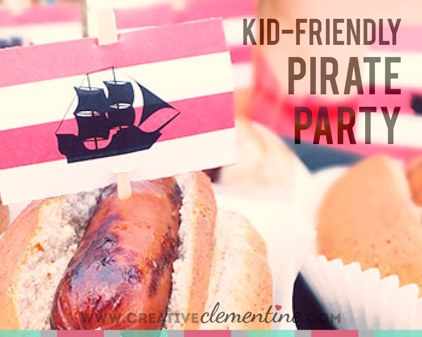 Ahoy Matey! A kid-friendly pirate theme party