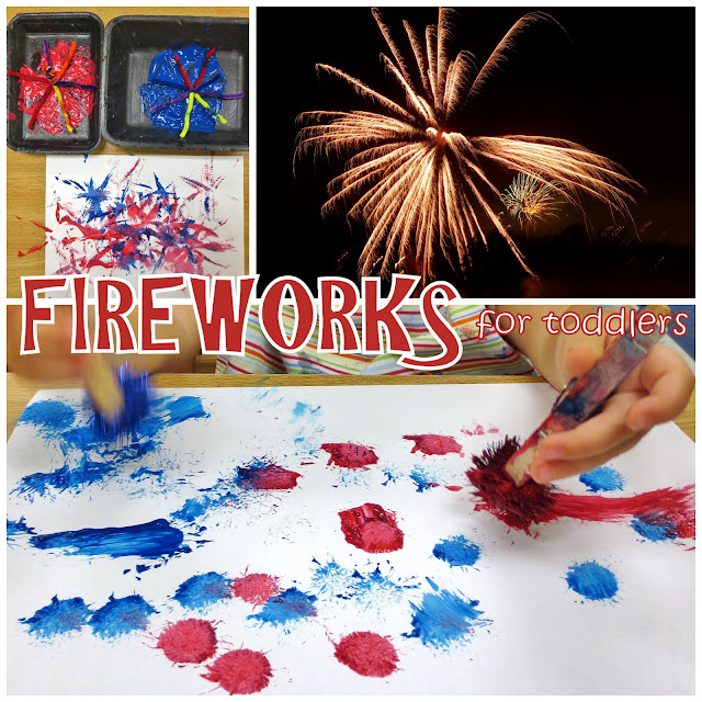 firework craft ideas for preschoolers princesses pies amp preschool pizzazz fireworks for toddlers 6576