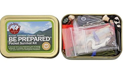 Be Prepared Pocket Survival Kit