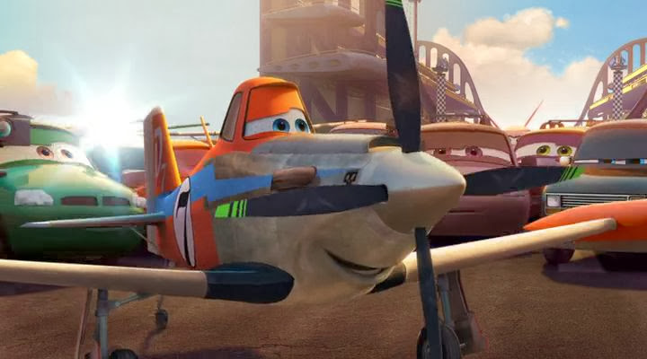 Screen Shot Of Planes (2013) English Movie 300MB Short Size PC Movie
