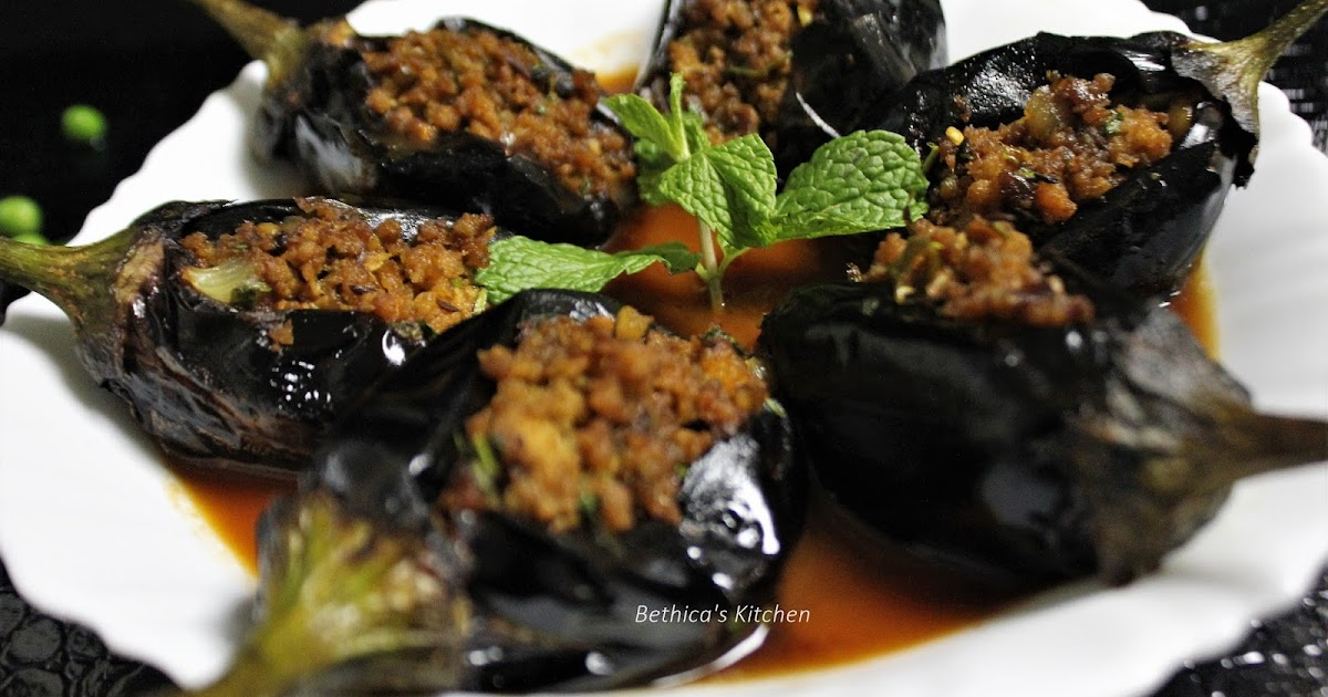 Bethica S Kitchen Flavours Sheikh Al Mahshi Stuffed Eggplants Lebanese Style With Indian