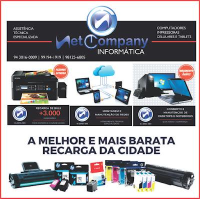 NET COMPANY INFORMÁTICA -- ASSISTÊNCIA TÉCNICA ESPECIALIZADA -- COMPUTADORES, IMPRESSORAS E TABLETS