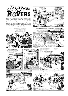 1954 Roy of the Rovers - Roy Race on Trial