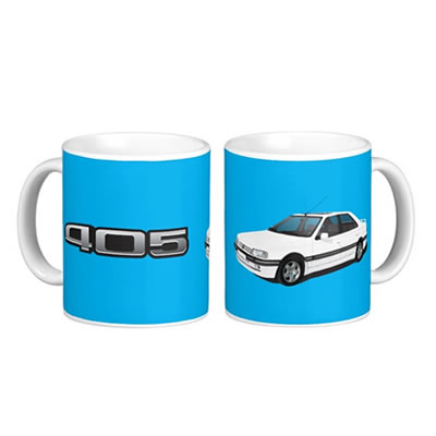 Peugeot 405 t-shirt coffee mug zazzle