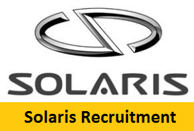 Solaris Bus & Coach Recruitment 2017-2018
