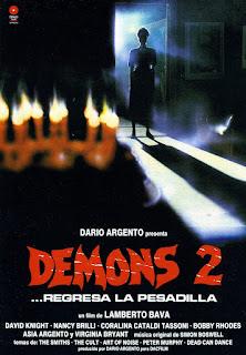 Demons 2, Lamberto Bava, Dario Argento
