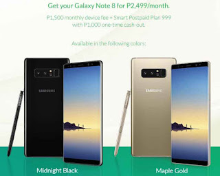 Smart Plan Samsung Galaxy Note 8
