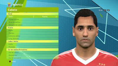 PES 2016 Jonas (Benfica) by Luc01Facemaker