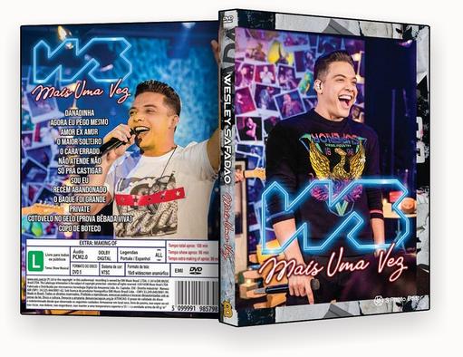 CAPA DVD – Wesley Safadão Mais uma Vez – ISO
