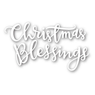 Christmas Blessing Dies