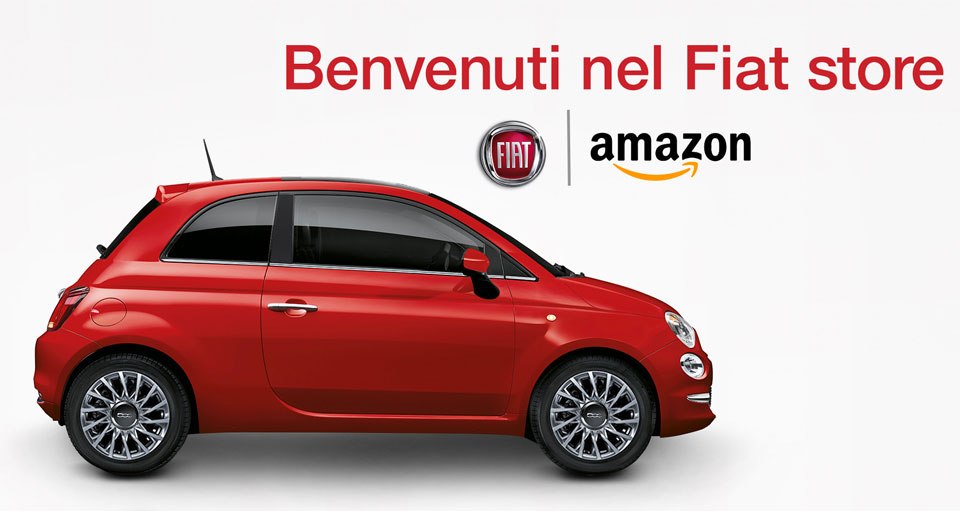 Italians Can Now Buy Their Fiats On Amazon.it