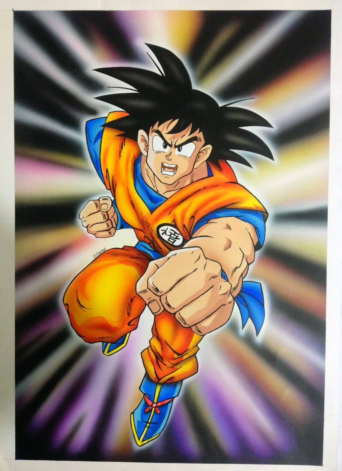 SERIE DE MURALES DRAGON BALL Z
