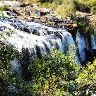 Segunda Cachoeira do Parque das Cachoeiras Vera Tormenta, em Vacaria