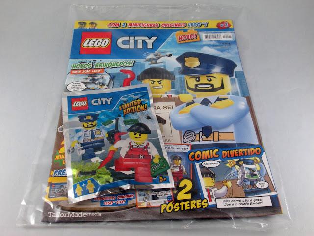 revista LEGO City #01 setembro 2017