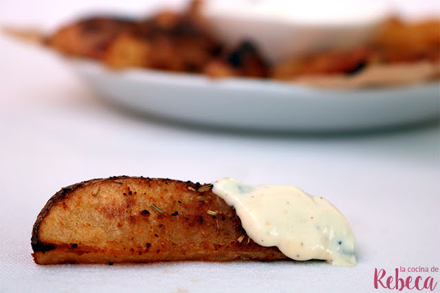 Patatas cajún (o deluxe)
