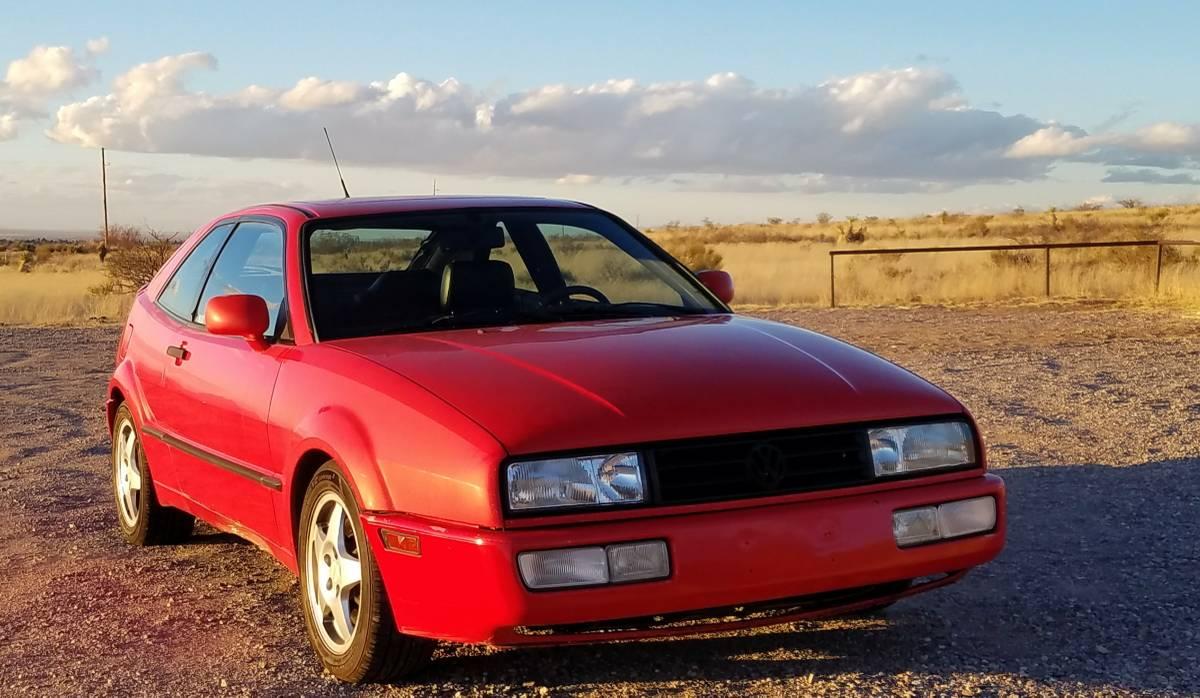 Daily Turismo: Sport Luxury Coupe: 1993 Volkswagen Corrado SLC VR6