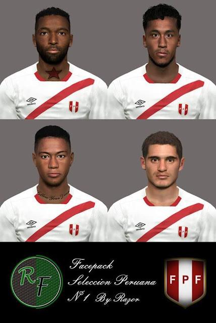 PES 2017 Selección Peruana Facepack
