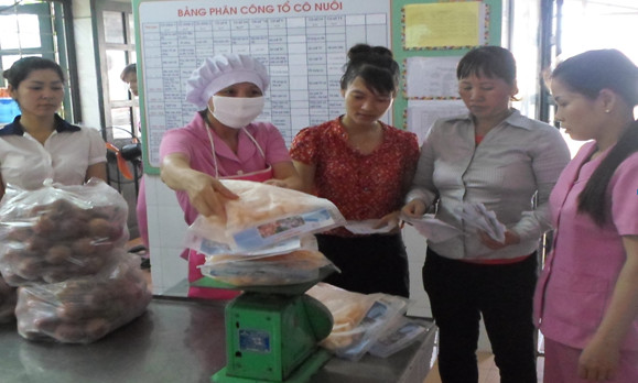 Kế hoạch chăm sóc nuôi dưỡng trong trường mầm non - Sáng kiến kinh nghiệm