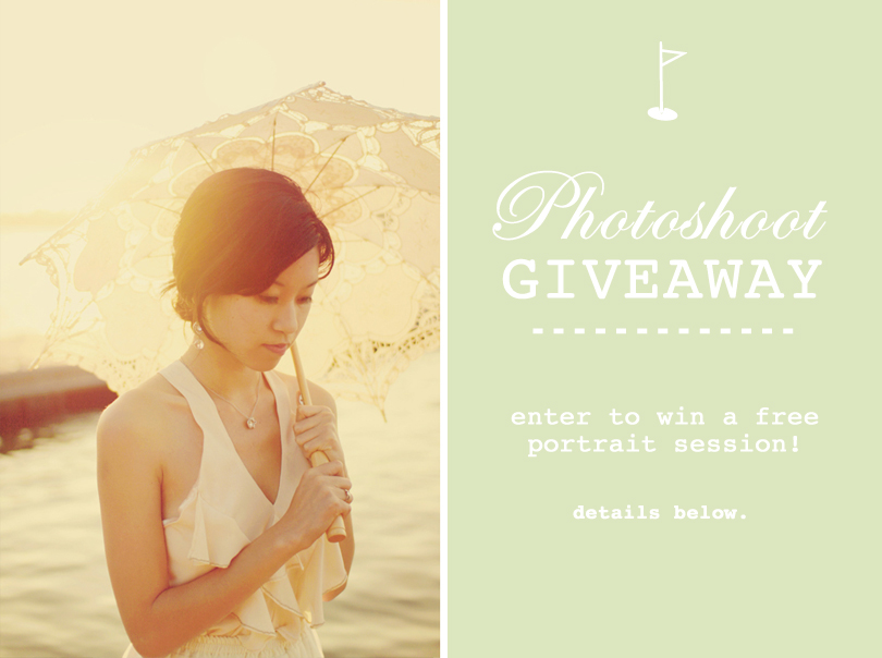 Felicia Cheng Photo Photoshoot Giveaway
