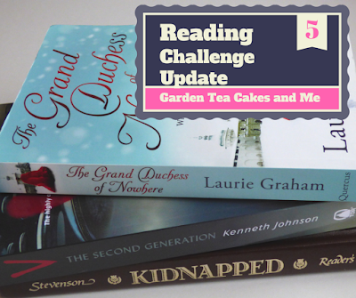 Reading Challenge book review The Grand Duchess of Nowhere Period Drama Scifi