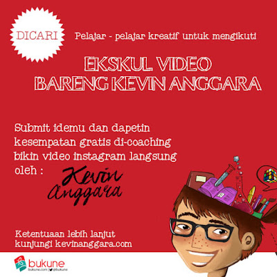 Ekskul Bikin Video Bareng Kevin!
