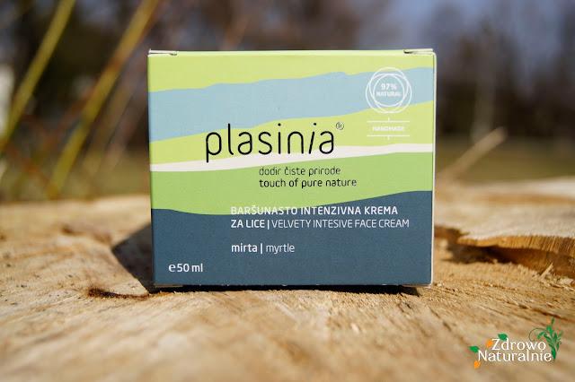 Plasinia - Aksamitnie nawilżający krem do twarzy