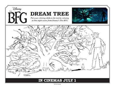 The BFG, Disney, movie, movie theater, family, activities, activity sheet, kids activities, kids, word search, coloring pages, video, featurette,