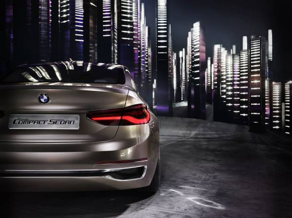 P90204815 lowRes BMW Concept Compact sedan ή μήπως σειρά 1 sedan;