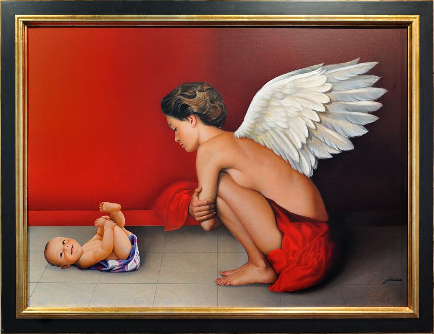 Adoración del ángel, de JCarrero