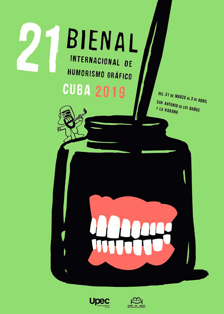 XXI INTERNATIONAL BIENNIAL OF GRAPHIC HUMOR CUBA 2019
