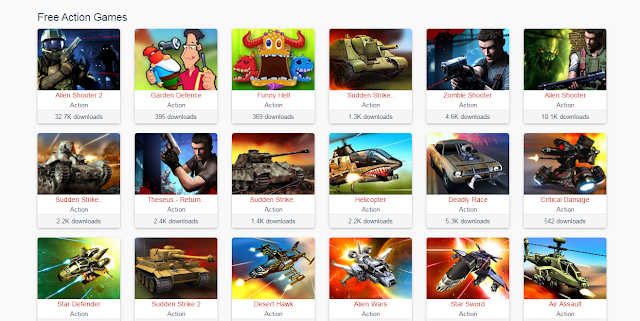 تحميل مجموعة كثيرة من الألعاب إلى حاسوبك مجانا من خلال موقع واحد
